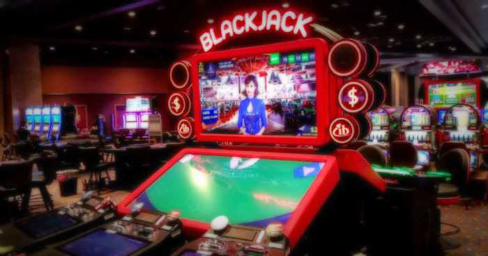 blackjack video game